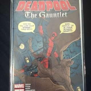 Dead Pool Comic Book