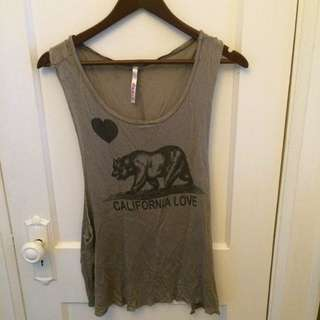 California love Tank