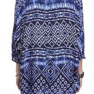 Cotton On Blue Kimono