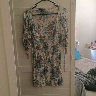 REDUCED! Flower Pattern Dress