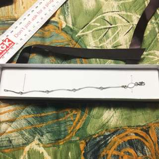 Sterling Silver 18cm Bracelet