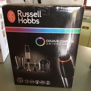 Russell Hobbs Colour Control 3 In 1 Stick Mixer