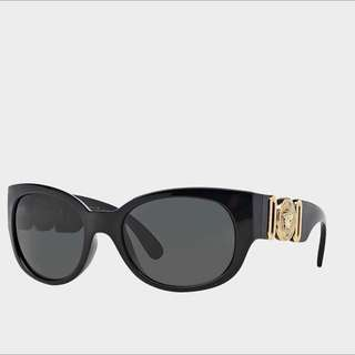 Genuine Versace Vintage Gold Plated Designer Sunglasses