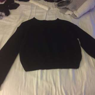 Knitted Crop Sweater Forever 21