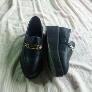 Black Loafer Creepers
