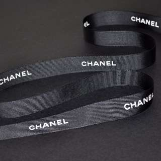 Chanel black ribbon