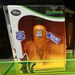 優獸大都會 Zootopia 蘿蔔錄音筆