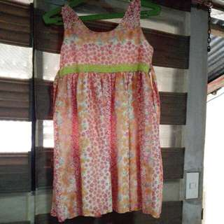 Pre Loved Sunday Dress Of My Daughter Fits To Little Girls Ages 7-8 Years Old..