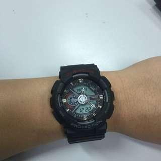 Black G Shock Watch