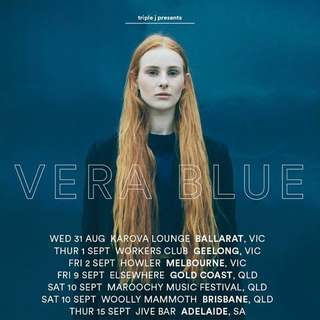 2 X Vera blue Tickets Sydney