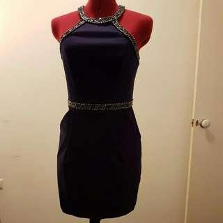 Forever New Navy Dress