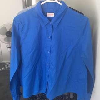 GORMAN Blue Weekender Button Up Shirt