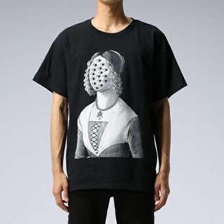 UNDERCOVER高橋盾 女子肖像Tshirt