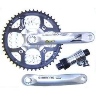 *~(疾風單車)全新 SHIMANO FC-M470 9速 登山車大盤 48/36/26齒 含BB(出清價)