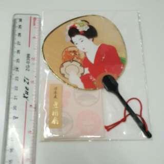 美人扇連信封(日本製)