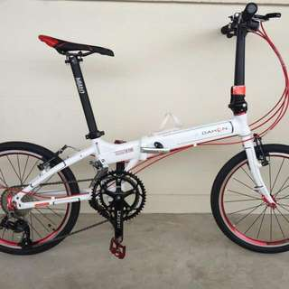 *IN-STOCK* Dahon Archer MP18 ( White/Red Fully Modded)