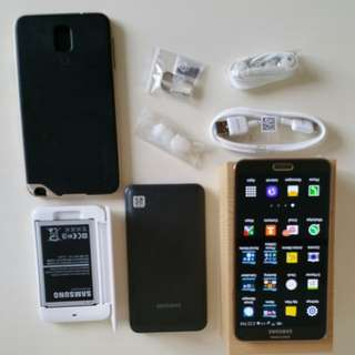Samsung Note 3 (Rosegold-Very New)