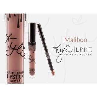 Maliboo Kylie Lip Kit Swap