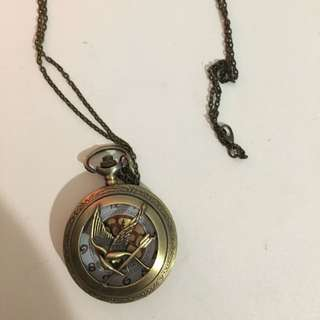 Hunger Games Watch/Necklace