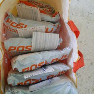Thank You All! Will Update Tracking Number After Kak Az Tidurkan Anak.. Huhu