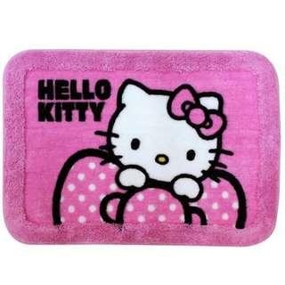 Hello Kitty加框長毛地毯