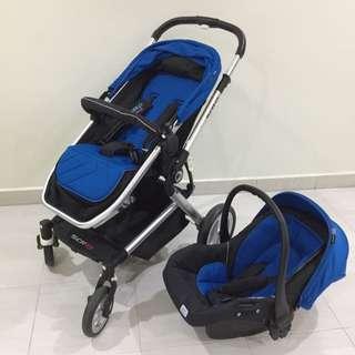 Sweet Cherry SCR13 + J002 Gubi Infant Carrier Carseat