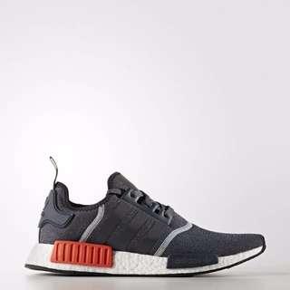 Adidas NMD R1 Gray and Red Wool S31510 Pre Order 黑紅 黑橘 灰橘 鐵灰 國外公司貨 正品代購 含盒預購