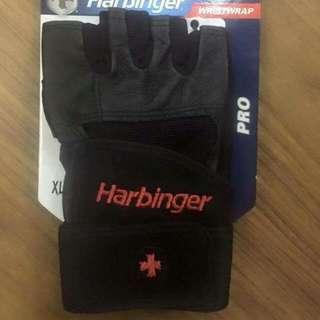 Weight Gloves w/ Wrist Strap
