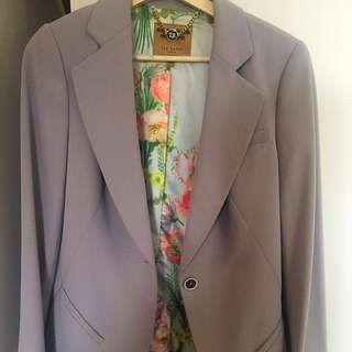 Grey Ted Baker Blazer