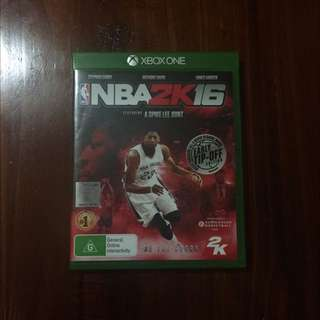 NBA 2K16 - Xbox One Games