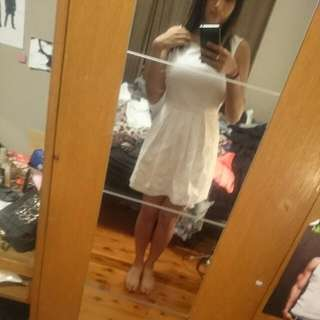White Sportsgirl Dress