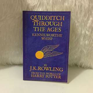 Quidditch Through The Ages by J.K.Rowling