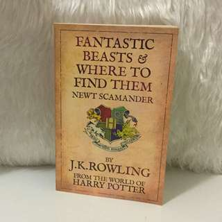 Fantastic Beasts & Where To Find Them by J.K.Rowling