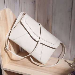 LEATHER CROSSBODY SHOULDER BAG CLUTCH
