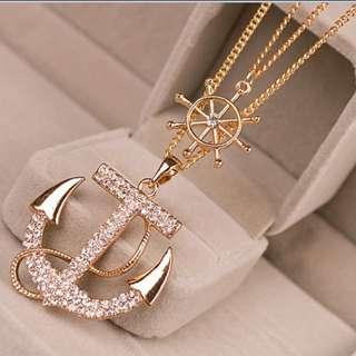 Anchor compass long chain