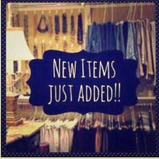 New Items Listed
