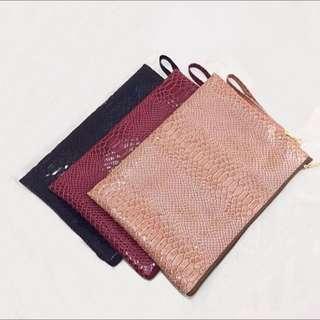 Clutch Leather Bag