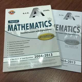 H2 A Level Mathematics Topical TYS