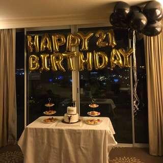 [INSTOCK] Full set Happy birthday balloons