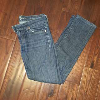 7 For All Mankind 'Roxanne' Jeans Sz 26