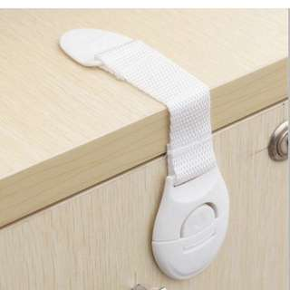 Child Safety Lock/ Clip (With 3M Tape) - 8pcs
