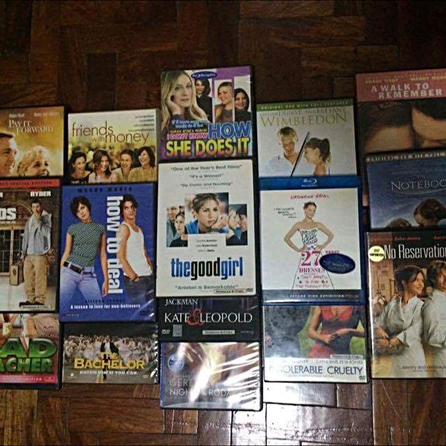 35 Original Movie DVDs