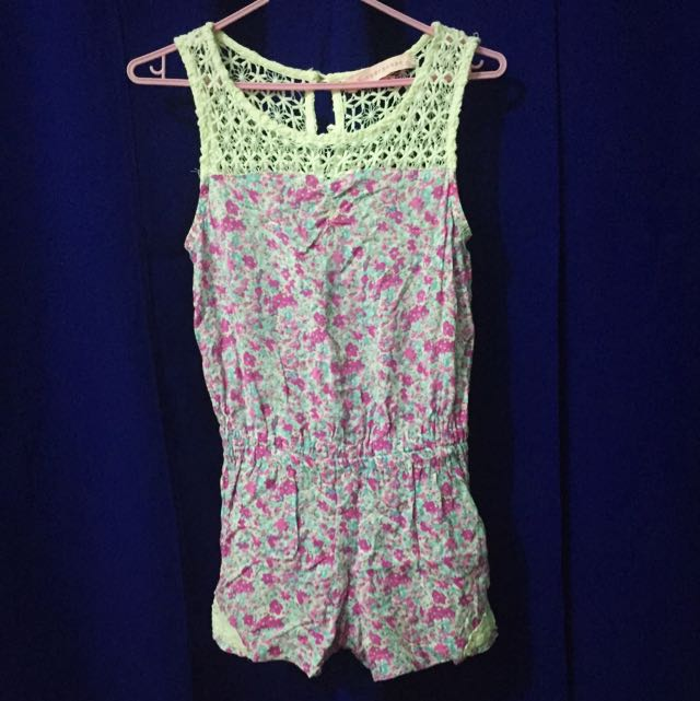 💞 Gingersnap Shorts Jumpsuit
