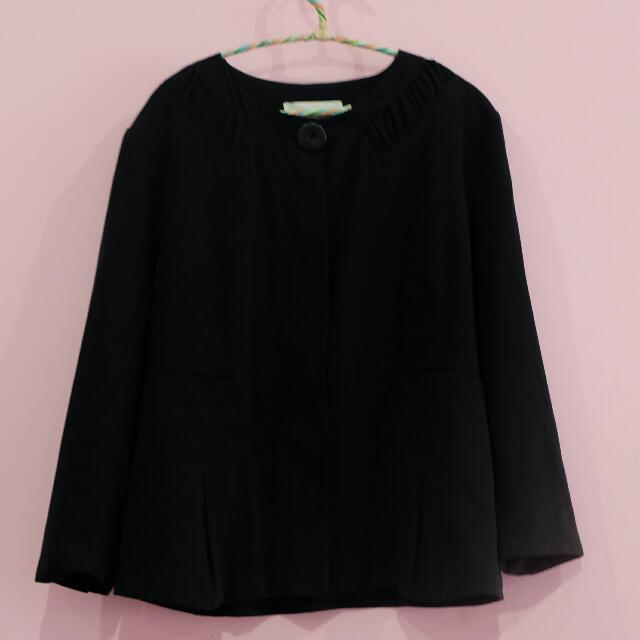 ACCENT blazer black