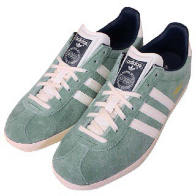 Adidas Gazelle OG 藍綠色