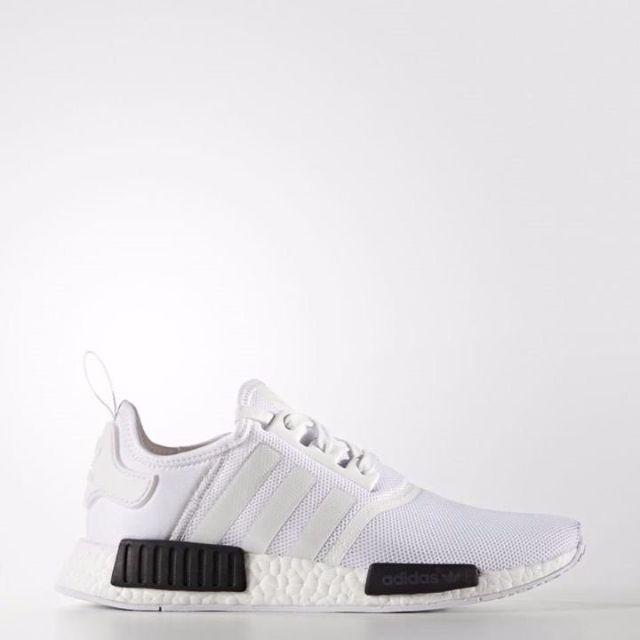 "Adidas NMD ""White/Black黑白"" 2016 BB1968 US6.5-11國外公司貨 正品代購 含盒預購"