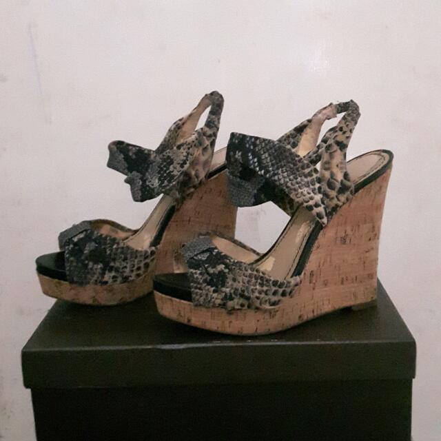 ALDO Ankle Strap Wedges