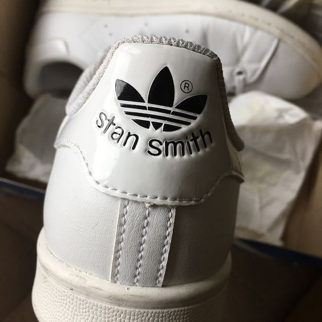 All-White Authentic Stan Smiths