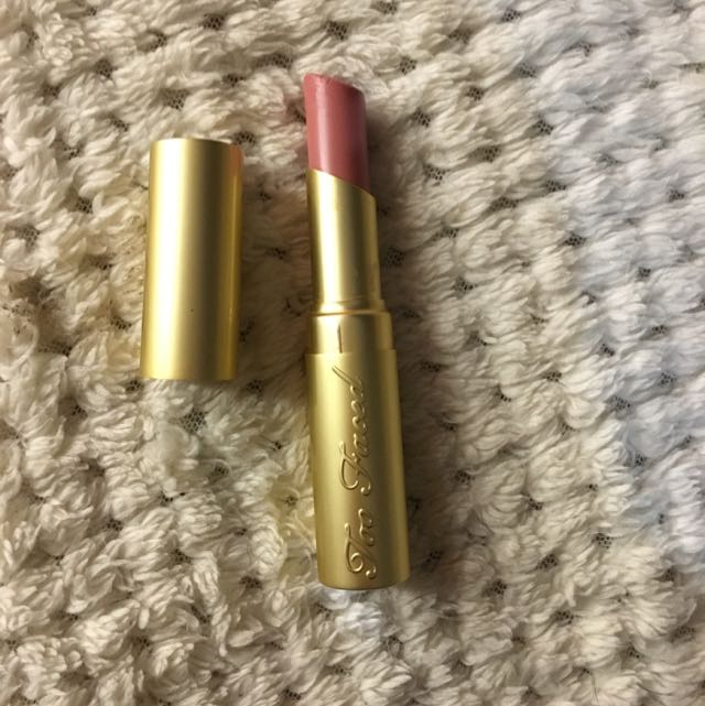 Authentic Too Faced Lipstick