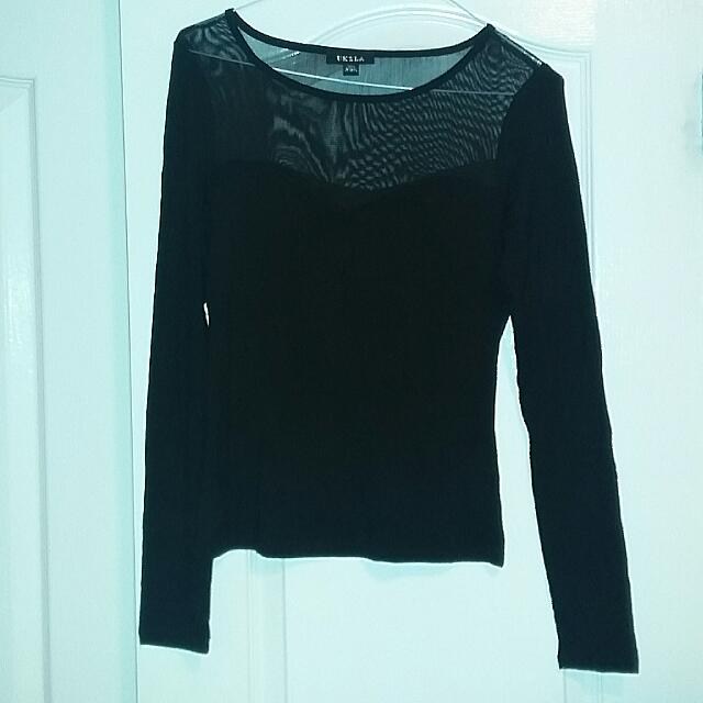 Black Top: Medium
